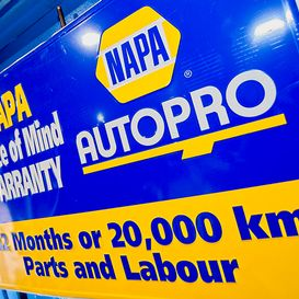 Napa Autopro - 12 months or 20,000 km Part & labour